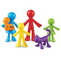 """Набор фигурок """"Семья"""" от Learning Resources ( 6 шт)"""