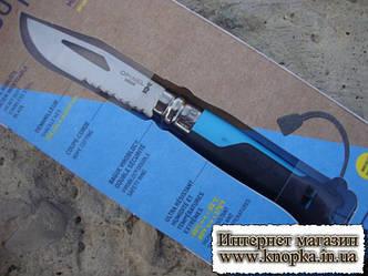Нож Opinel (опинель) N°8 Outdoor Blue (001576)