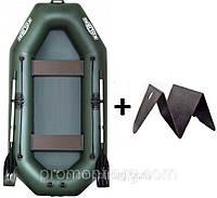 Лодка гребная надувная Kolibri (Колибри) Стандарт (с пайолом слань-книжка) KDB К-280Т /48-592