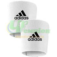 Держатели фиксаторы (Тейпы) для щитков белые Адидас Adidas