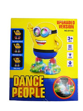 Танцующий миньон Dance People NO.8115С , фото 2
