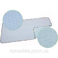 Двусторонняя дышащая непромокаемая пеленка многоразового использования, «Непромокайка CLASSIC ЭКО ПУПС», 65х90