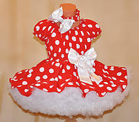 Платье  в горох для девочки. Любые размеры и цвета., фото 2