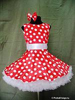 Платье  в горох для девочки. Любые размеры и цвета., фото 3