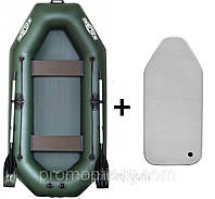 Лодка гребная надувная Kolibri (Колибри) Стандарт (с пайолом air-dreck) KDB К-280Т /0-523