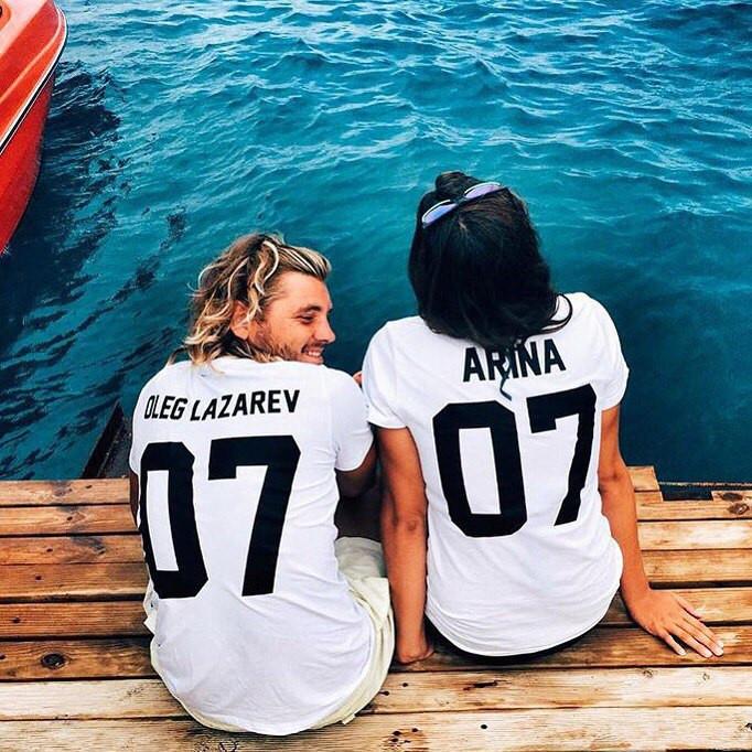 Именная футболка с вашим именем и номером