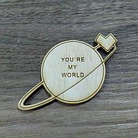 Ты -мой мир. Фигурка для творчества 6 см