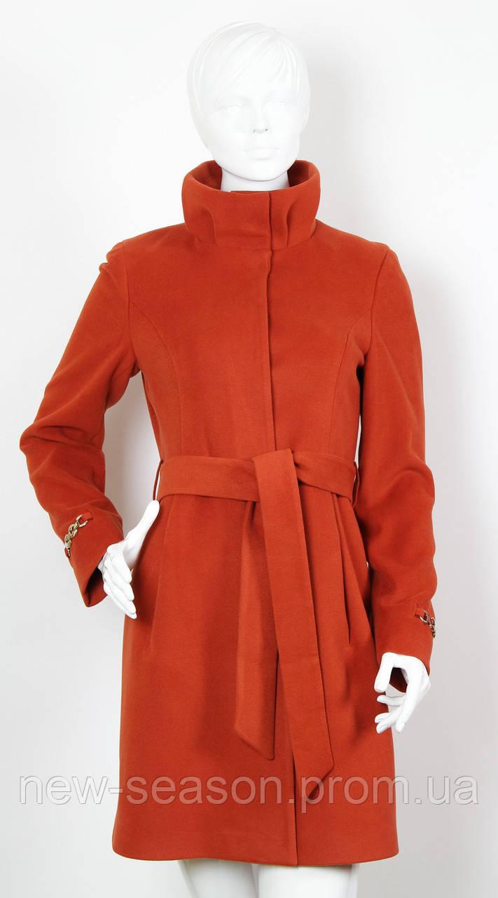 Пальто кашемировое ICON 2757 терракот