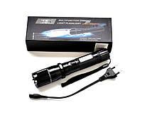Шокер Оса 288: шипованые электроды, 100000кВ, светодиодный фонарь с оптикой, лазер, аккумулятор, ремешок