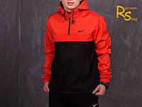 Мужской анорак Nike black-red