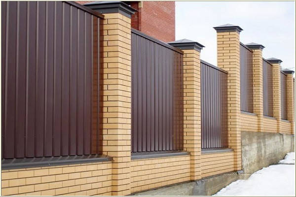 Забор из профнастила, фото 2