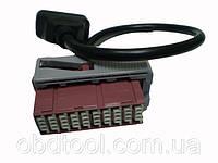 Переходник Obd II - PSA 30 PIN адаптер для старых Peugeot и Citroen