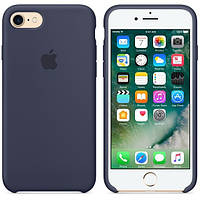 Чехол для iPhone 7 - Original silicone case, midnight blue