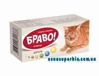 Витамины Браво для кошек (60 табл.)