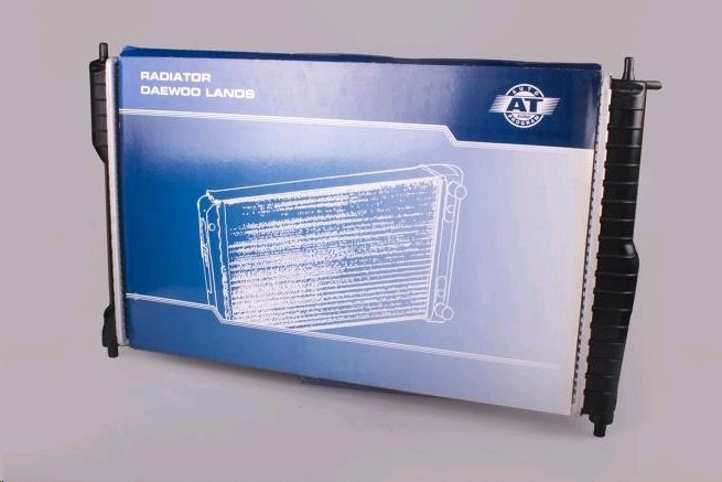 Радиатор Охлаждения Daewoo Lanos 1.5 Ланос 1.6 (С Кондиционером) AT (АТ)