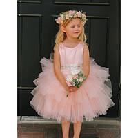 Детское пышное милое платье.
