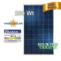 Yingli YL260 P солнечная панель (батарея, фотомодуль) поликристалл 260 Вт