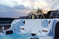DOUBLE DECKER SPA   - бесконечный плавательный бассейн + роскошное джакузи... Эксклюзив Комфорт СПА