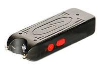 Защита от собак: электрошокер Wei Shi 888, 30000кВ, пробой 40мм, LED-фонарик, чехол, зарядка, 117х42х22мм