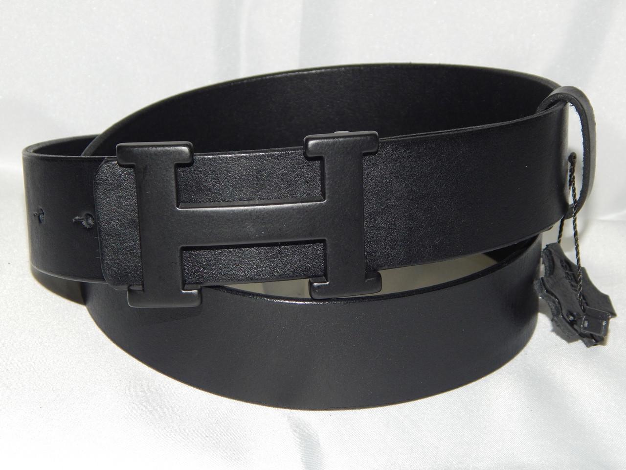 4ccfe1095bf8 Ремень Мужской Кожаный Hermes 40 Мм 930513 — в Категории