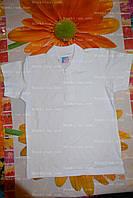 Рубашка-поло,6,7,8,9 лет,футболка-рубашка школьная