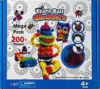 """Детский креативный конструктор Bunchems """"Thorn ball Clusters"""",200 дет."""