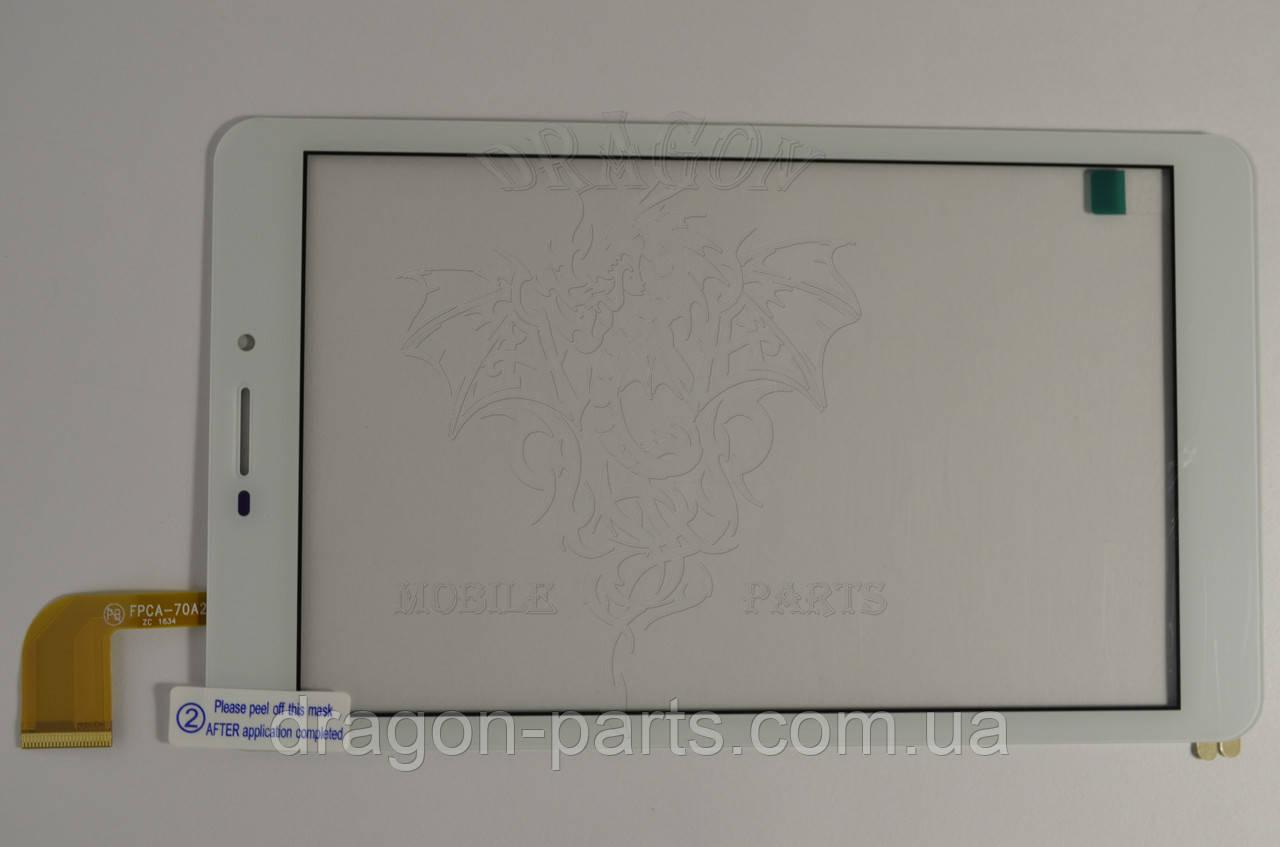 Сенсор (тач) Nomi C070020 Corsa Pro White/Белый , оригинал