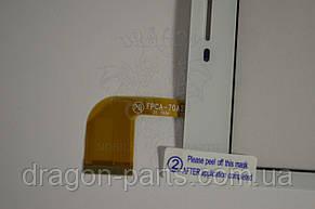 Сенсор (тач) Nomi C070020 Corsa Pro White/Белый , оригинал, фото 2