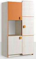 Шкаф книжный 3Д Санта Дсп Феникс Мебель