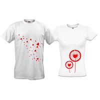 Парные футболки Одуванчики