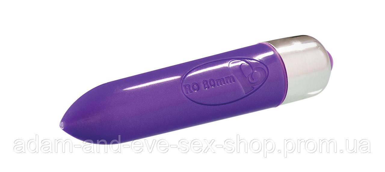 Вибратор Rocks Off RO-80mm Single Speed Purple