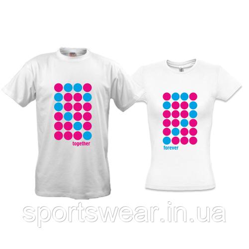 Парные футболки Forever Together (2