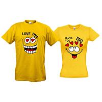 Парные футболки Love You Too