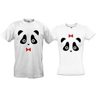 Парные футболки с пандами