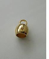 Держатель сумочный золото
