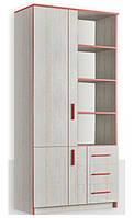 Шкаф книжный 800 2Д/3Ш Рио Дсп Феникс Мебель
