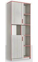Шкаф книжный 800 2Д Рио Дсп Феникс Мебель