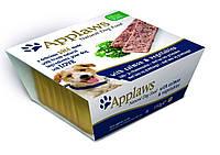 6254 Applaws Dog Pate with Salmon & Vegetables - Аплавс Консервы для Собак Паштет с Лососем и Овощами 150г