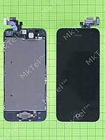 Дисплей iPhone 5 в сборе Копия АА Черный