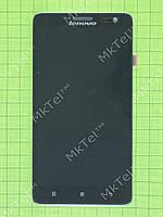 Дисплей Lenovo S856 с сенсором, панелью, черный orig-china