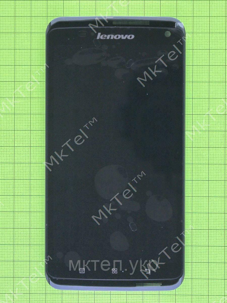 Дисплей Lenovo S930 с сенсором, панелью, черный orig-china