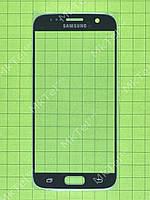 Стекло сенсор. экрана Samsung Galaxy S7 G930F Копия АА Синий