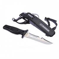 Нож для подводной охоты и дайвинга Диабло Професионал Рrofessional Diablo без молотка AquaLung Technisub