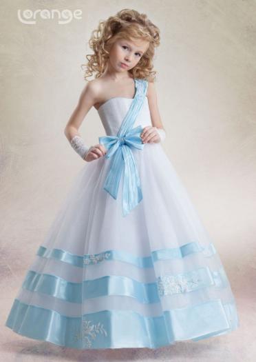 Детское необычное платье Белла.