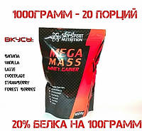 Гейнер SKY SPORT NUTRITION	MEGA MASS whey gainer 1000 g