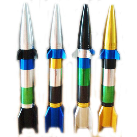 Курильна Трубка у вигляді ракети розбірна колір випадковий SKU0000612