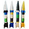 Трубка курительная в виде ракеты разборная цвет случайный SKU0000612