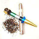 Курильна Трубка у вигляді ракети розбірна колір випадковий SKU0000612, фото 2