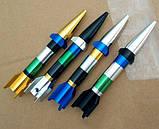 Курильна Трубка у вигляді ракети розбірна колір випадковий SKU0000612, фото 5