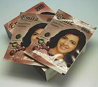 Хна для волос Mahogany (красное дерево) 6 пакетов по 10мл HV-00 YRE